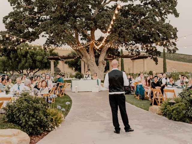 Zach and Kelly's Wedding in Paso Robles, California 24
