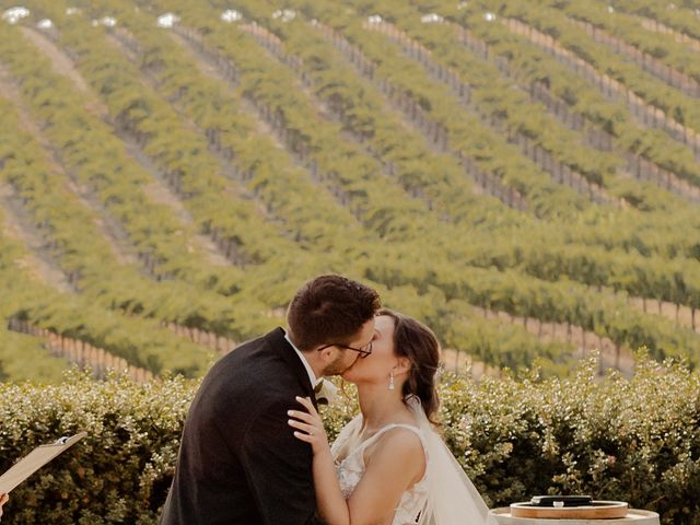 Zach and Kelly's Wedding in Paso Robles, California 90