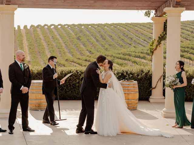 Zach and Kelly's Wedding in Paso Robles, California 91