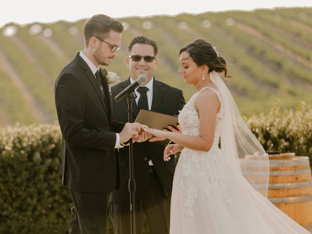 Zach and Kelly's Wedding in Paso Robles, California 92