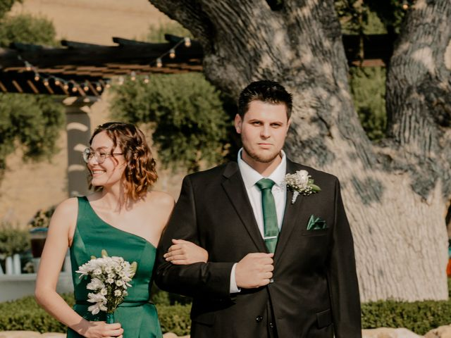 Zach and Kelly's Wedding in Paso Robles, California 124