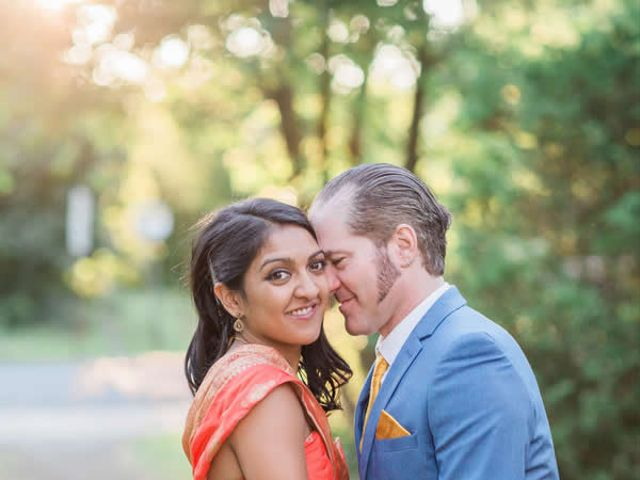 The wedding of Tony and Ruchi