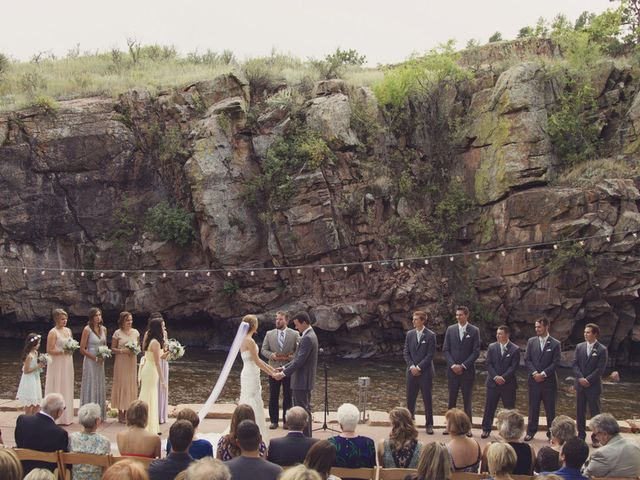 Milena and Gideon's Wedding in Lyons, Colorado 11