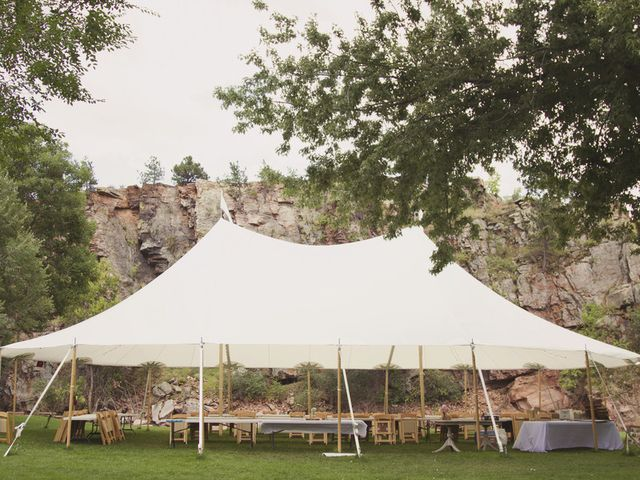 Milena and Gideon's Wedding in Lyons, Colorado 16