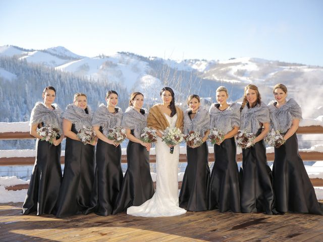 Hilary and Ron's Wedding in Park City, Utah 8