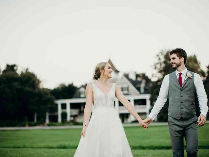 The wedding of Josie and Josh