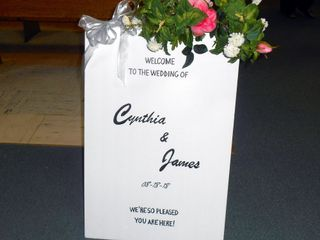 The wedding of Cynthia and James 1