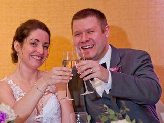 The wedding of Cynthia and James
