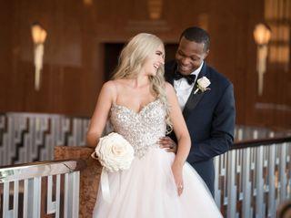 The wedding of Allison and Rashad