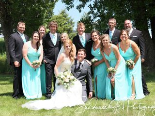 The wedding of BRIAN BOSCH JR and LISA DAVIS 2