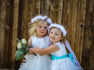 The wedding of BRIAN BOSCH JR and LISA DAVIS 1