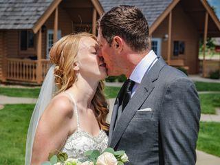 The wedding of BRIAN BOSCH JR and LISA DAVIS 2