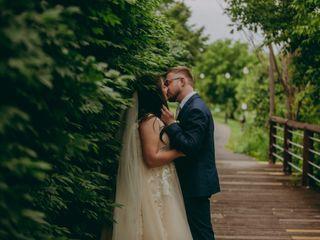 The wedding of Inna and Oleg