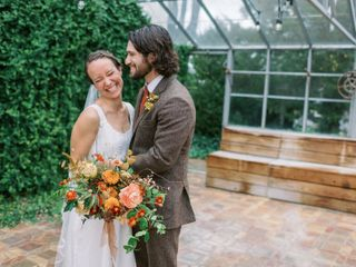 The wedding of Elizabeth and Matthew