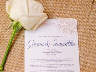 The wedding of Gibson and Samantha 2