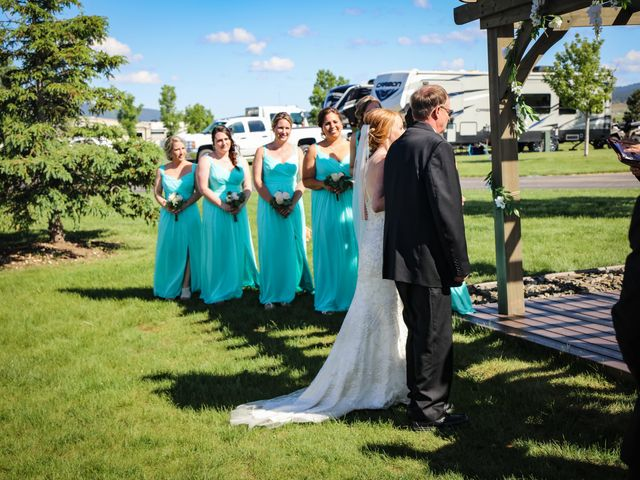 Lisa and Brian's Wedding in Spearfish, South Dakota 10