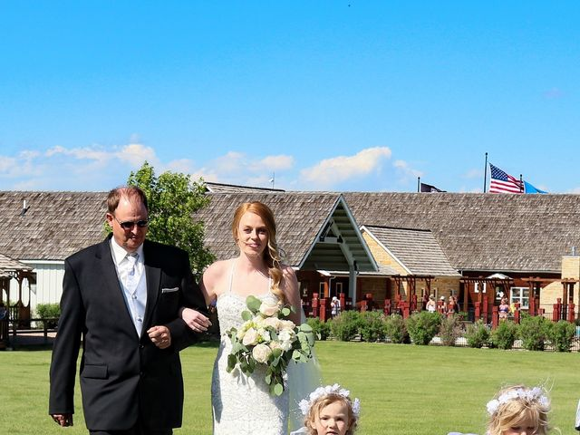 Lisa and Brian's Wedding in Spearfish, South Dakota 11