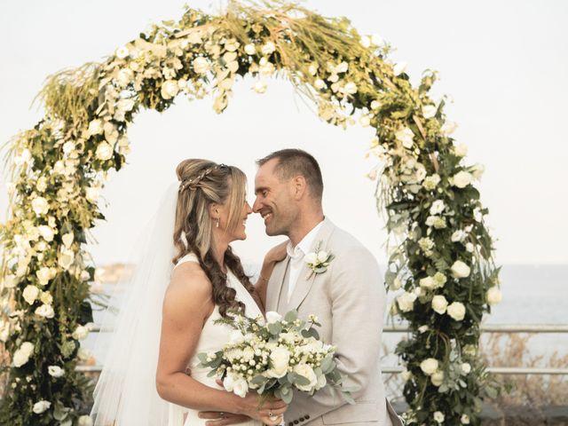 The wedding of Sharon and Rod
