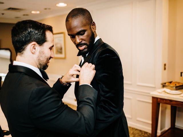 Kofi and Casey's Wedding in Wilmington, Delaware 12