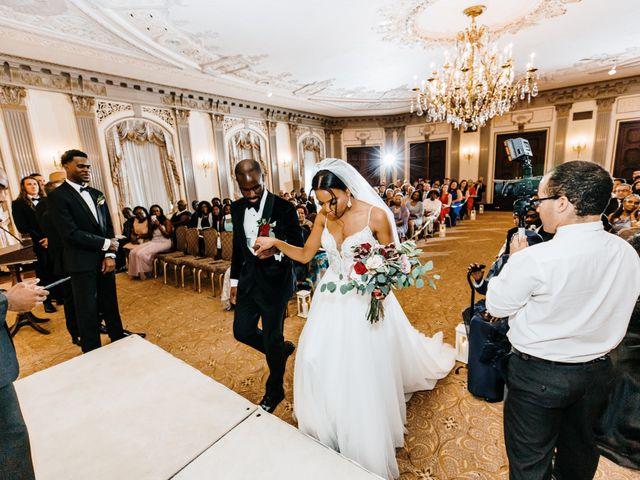 Kofi and Casey's Wedding in Wilmington, Delaware 24