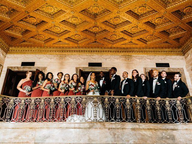 Kofi and Casey's Wedding in Wilmington, Delaware 36