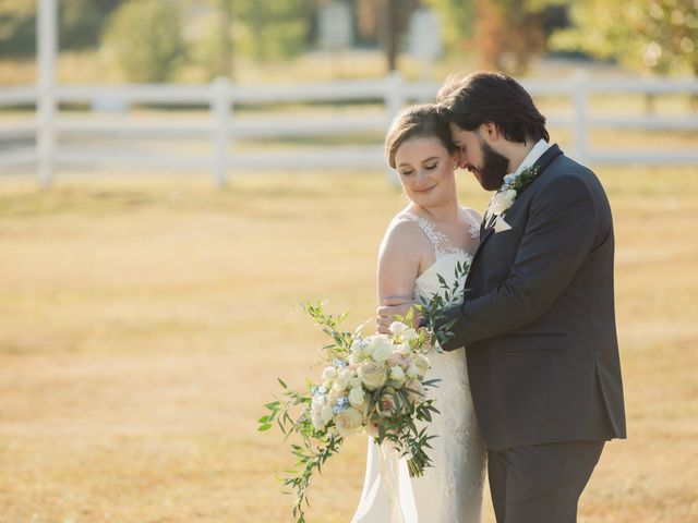 The wedding of Adrienne and Vincent