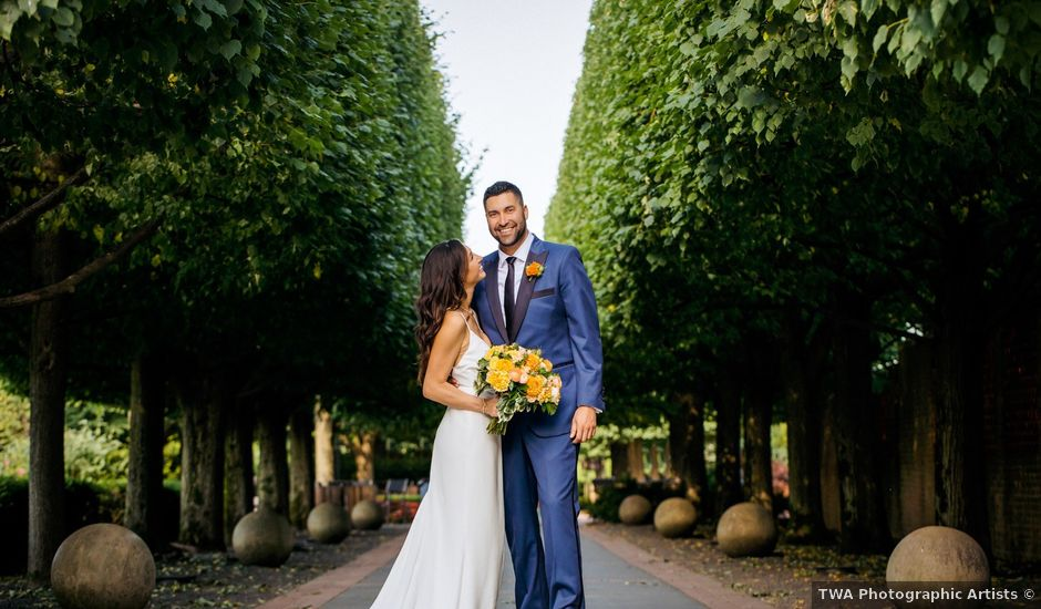 Gerardo and Jessica's Wedding in Glencoe, Illinois