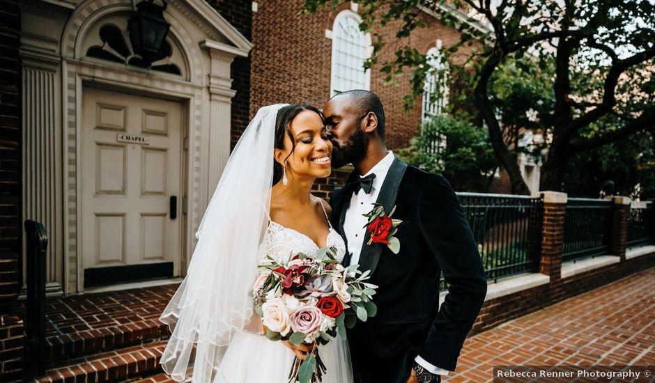 Kofi and Casey's Wedding in Wilmington, Delaware