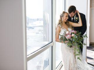 The wedding of Natalie and Josh