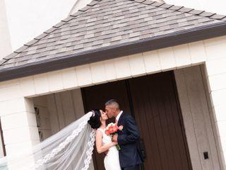 The wedding of Cynthia and Robert 1