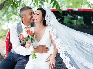 The wedding of Cynthia and Robert