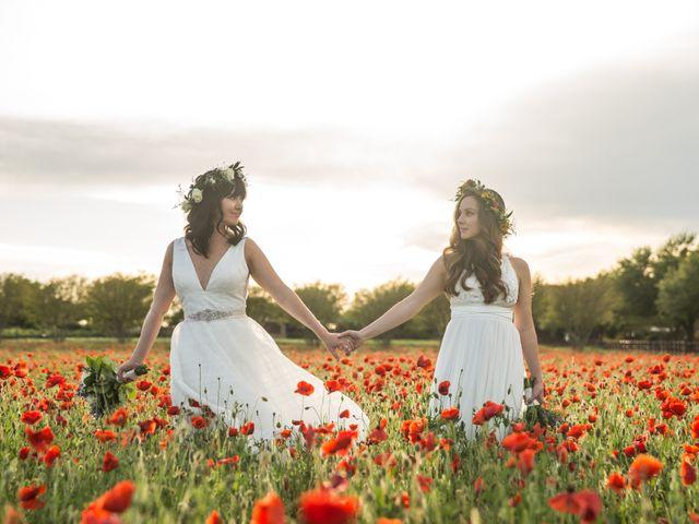 The wedding of Cheri and Nicole