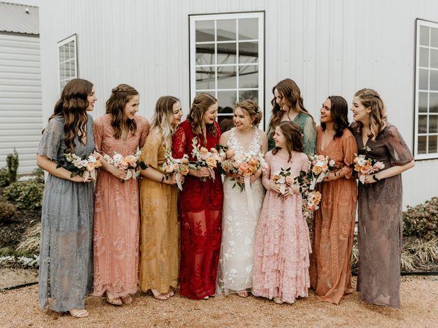 Joshua and Mary's Wedding in Leonard, Texas 7