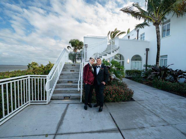 Richie and Chris's Wedding in Stuart, Florida 10