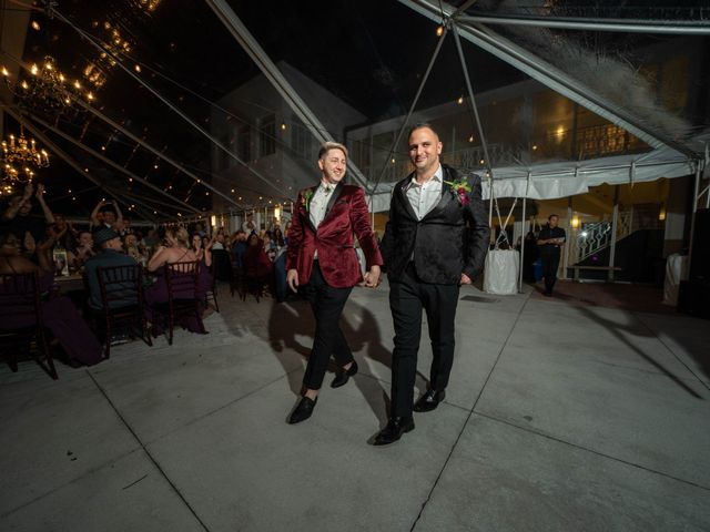 The wedding of Chris and Richie