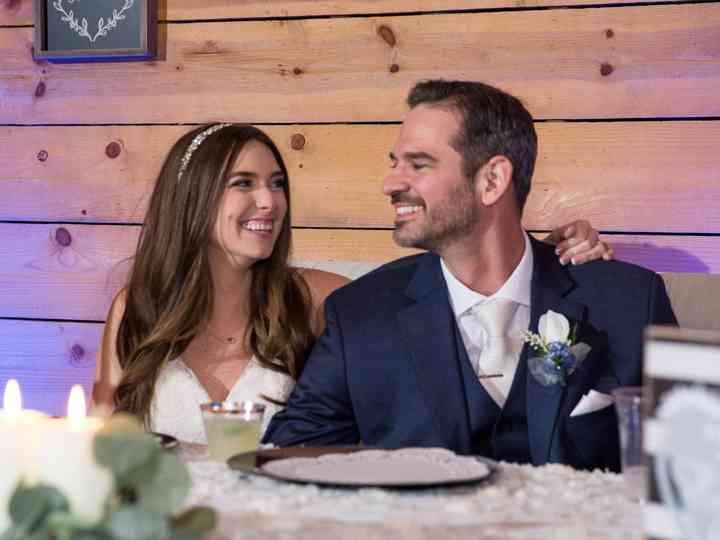 The wedding of Kayleigh and Paul