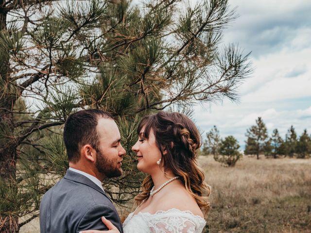 Danny and Racheal's Wedding in Rathdrum, Idaho 3