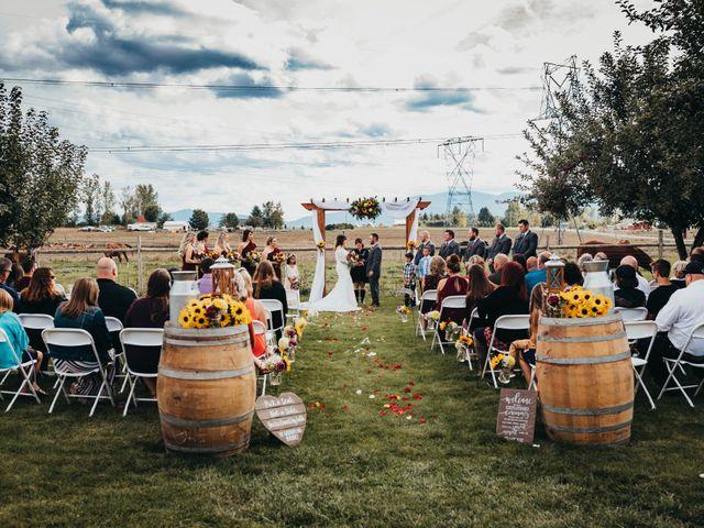 Danny and Racheal's Wedding in Rathdrum, Idaho 23