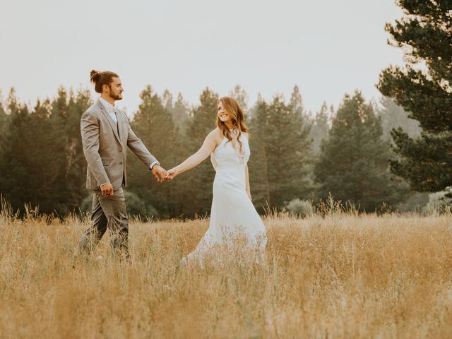 The wedding of Taissa and Chad