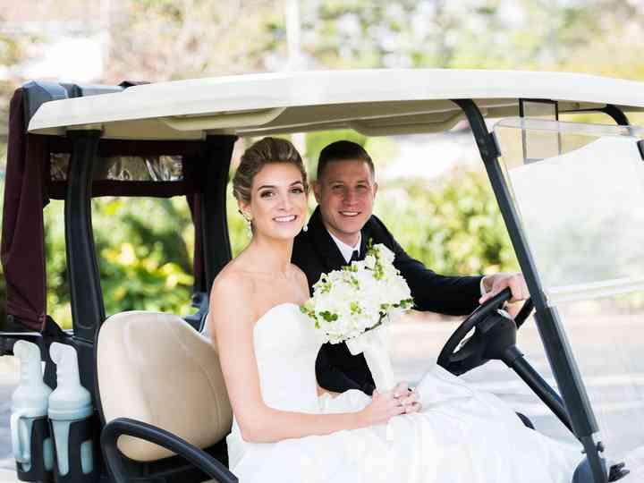 The wedding of Melissa and Dan