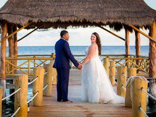 The wedding of Stephanie and Sacha