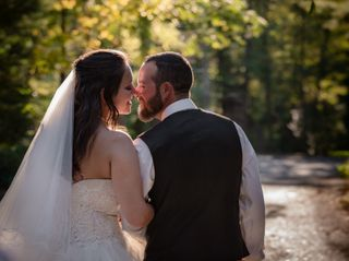 The wedding of Christiana and Marc