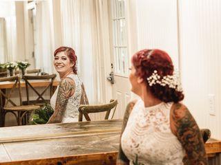 The wedding of Kristin and Josh 2