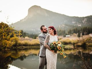 The wedding of Kristin and Josh