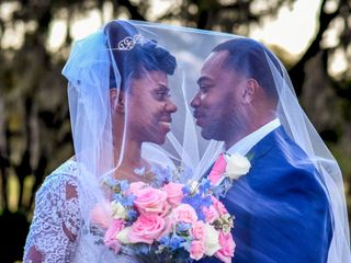 The wedding of Monica and Harold 1