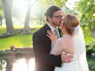 The wedding of Joshua and Brandi