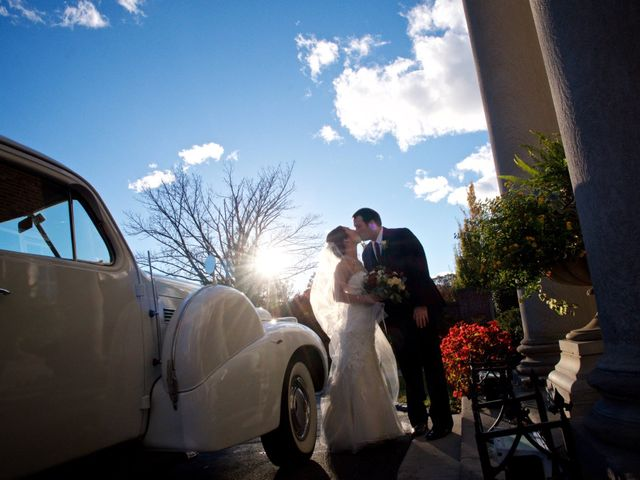 The wedding of Stephanie and Mason