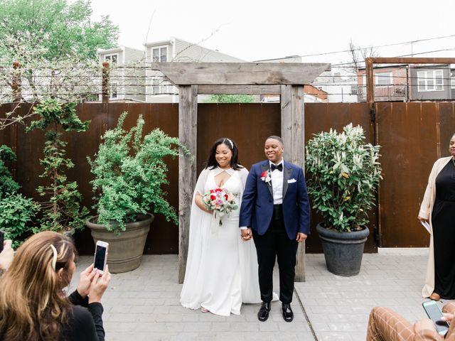 The wedding of Jasmine and Jasmin