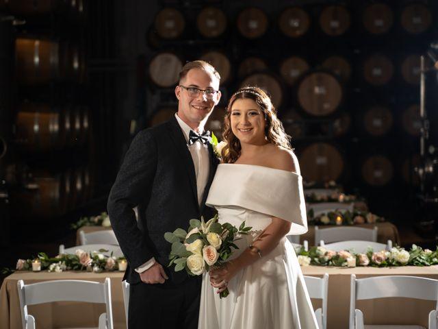 The wedding of Jessica and Jacob