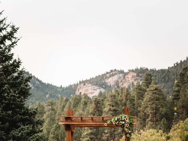 Josh and Kristin's Wedding in Pine, Colorado 5